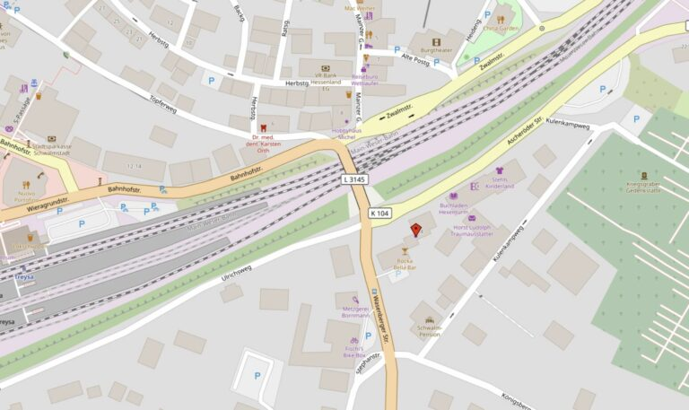 Karte Ascheröder Straße 4
